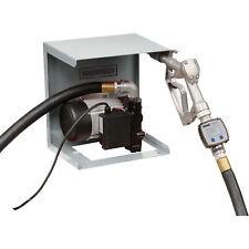 Roughneck 120v Fuel Transfer Pump 22 Gpm Meter Manual Nozzle Hose