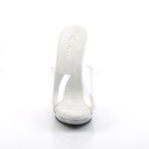 Lip Pantolette Platform 101 Mini Tabledance Trasparente Poledance Fabulicious dZqIOWwnI