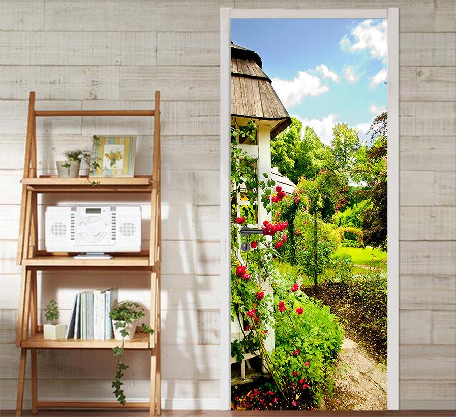 3D Der Pavillon 70 Tür Wandmalerei Wandaufkleber Aufkleber AJ WALLPAPER DE Kyra  | Spaß  | Das hochwertigste Material  | Maßstab ist der Grundstein, Qualität ist Säulenbalken, Preis ist Leiter