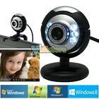 HD 12.0 MP 6 LED USB Webcam Camera w/ Mic &Night Vision for Desktop PC Laptop