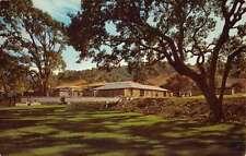 Walnut Creek California Townhouse Manors Street View Vintage Postcard K51539