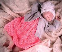 "21"" Beautiful Reborn Baby Girl ""Lydia"" ~ Donna RuBert Sculpt"
