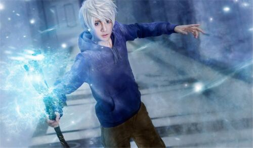 Rise of the Guardians Cosplay Props Jack Frost Weapons Magic Ice Wand Custom
