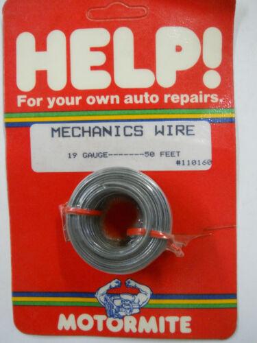 50 Feet Mechanics Wire 19 Gauge Many Home /& Shop Uses Help // Dorman