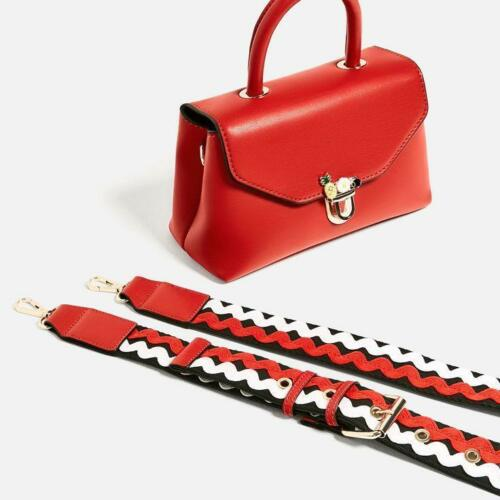 Zara Ref4329 Fastening 204 Red Mini Crossbody Bnwt Bag With CxQBrsthdo