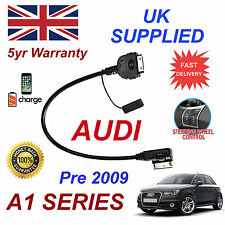 For AUDI A1 4F005151iPhone 3gs 4 4s & most iPod AMI MMI Audio Cable Pre 2009