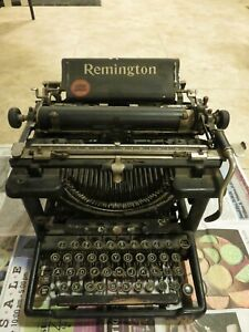 Vintage Rare Remington Standard No.10 Typewriter  Antique early 1900s For Parts