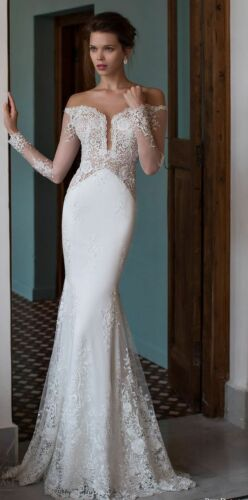 Formal Off The Shoulder Wedding Gown Delivery In About 28 Days.
