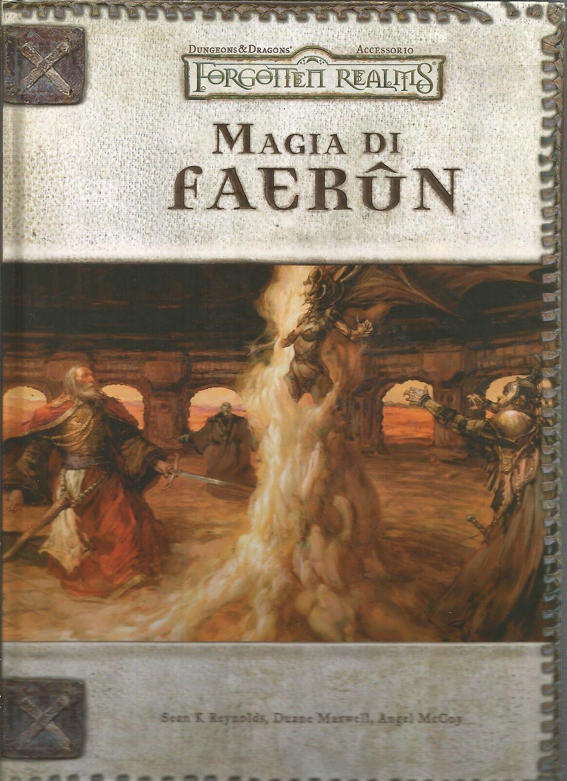 D&D - Dungeons & Dragons - Forgotten Realms - Magia di Faerun - USATO Buono