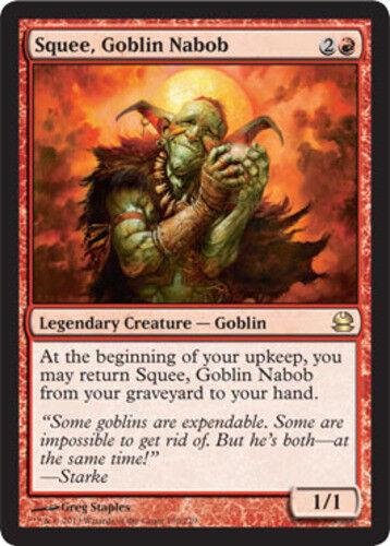 English -BFG- MTG Magic x1 Modern Masters Near Mint 1x Squee Goblin Nabob