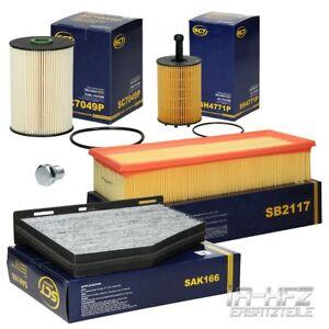 Inspektionspaket-Filterset-Audi-A3-8P-VW-Golf-5-Skoda-Octavia-II-1-9-TDI-2-0-TDI