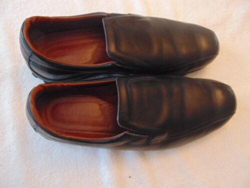 new arrival 94c3e fe2df 3e 13 Leather Slip On Men s Allen Shoes Black Edmonds wqC018