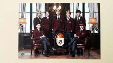 BTS Bangtan Boys SK Telecom Event Official Postcard Post Photo Card - Group