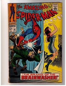 Amazing Spider-Man #59 (Apr 1968) Marvel VG First Mary Jane Cover Key Issue
