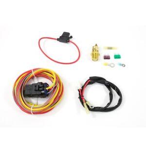 electric fan wiring harness kit temp sensor 185 on 165 off image is loading electric fan wiring harness kit temp sensor