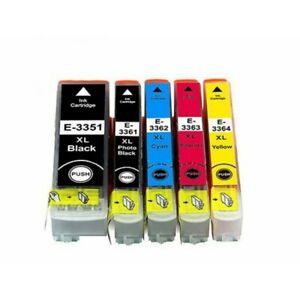 Cartouche-pour-Epson-33XL-T3351-T3361-XP-540-XP-640-XP-530