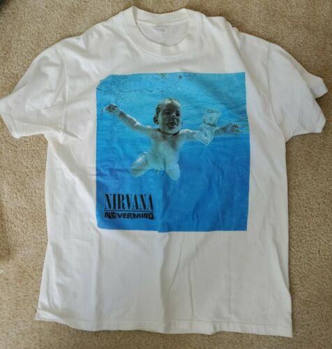 NIRVANA Nevermind Vintage t-shirt 1992  STEDMAN
