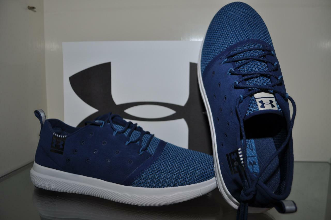 Under Donna Armour Donna Under 24/7 Casual Athletic  1297010 997 Navy Blue Size 10 e2e713