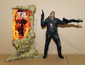 McFarlane-Movie-Maniacs-T-800-Terminator-2-Serie-4-Arnold-Action-Figure-Figur