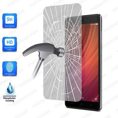 CRISTAL TEMPLADO Protector pantalla XIAOMI REDMI NOTE 4X 9H + Toallita Opcional