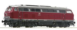 Roco-H0-78757-Diesellok-BR-215-der-DB-034-AC-fuer-Maerklin-Digital-Sound-034-NEU-OVP