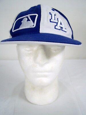 Daeho Spandex Fit Größe L/xl Unisex Hut Los Angeles La Dodgers Blau Weiß Baseball & Softball Sport