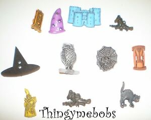 Details about 11 WITCHCRAFT & WIZARDY THEMED CRAFT BUTTONS -  CARDMAKING/SEWING/SCRAPBOOKING