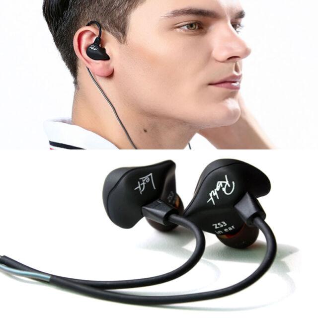 KZ ZS3 Detachable Cable In-Ear Earphone Heavy Bass HiFi Music Headphone With Mic