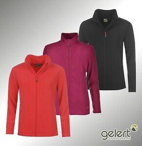 Femmes-Gelert-Chaud-Zip-complet-Ottawa-Col-haut-Veste-en-polaire-Neuf-Tailles-8-18