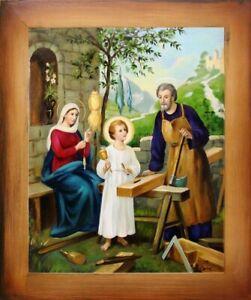 Efficace Religion Jésus-christ Dieu Divine Ölbild Tableau Peinture Cadre Photos G05893