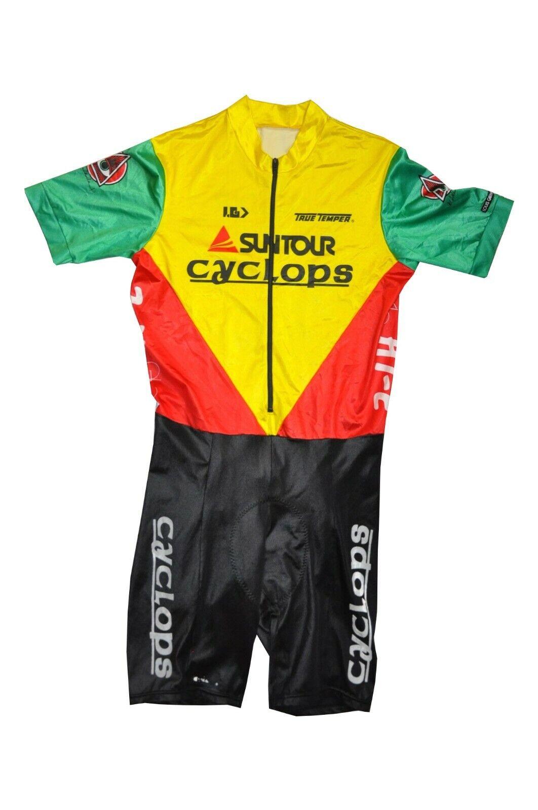 Louis Garneau vintage Race Suit Radanzug Gr. XL 5 Bike suntcyclops Anzug ES1