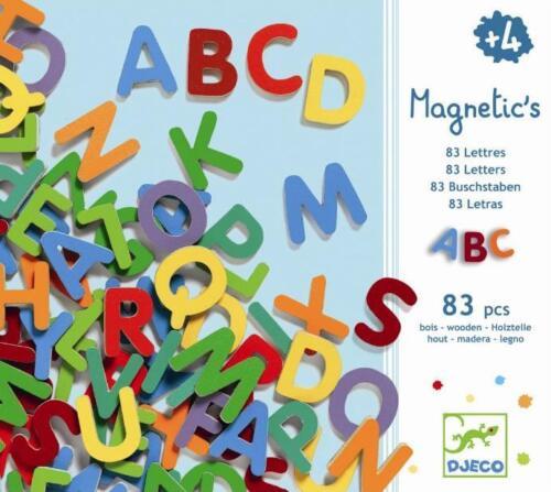 Djeco 83 kleine Buchstabenmagnete