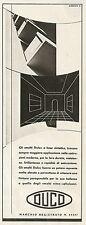 Y0095 Smalti Dulox - DUCO - Pubblicità 1938 - Advertising