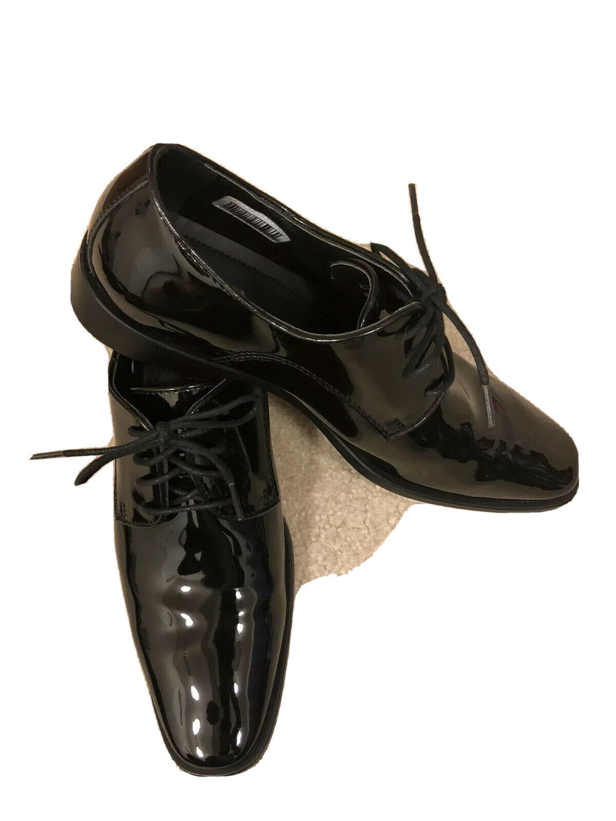 Joseph Abboud Men Tuxedo Dress Lace Up Shoe Size 10.5W. Very Clean And Nice.