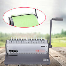 Manual Spiral Coil Binder A4 Paper Puncher 21 Hole Book Punching Binding Machine