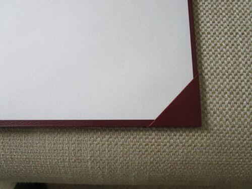 "LEATHERCRAFT  DESK BLOTTER FULL DEMY HAND MADE IN UK   /""SALE/"""