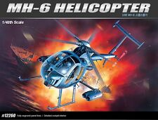 Academy Plastic Model Kit 1/48 MH-6 Stealth Helicopter 12260 NIB