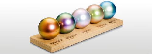 Pigmento en polvo de oro 4 Resina de fundición y arte pour Metálico recubrimiento piso encimera