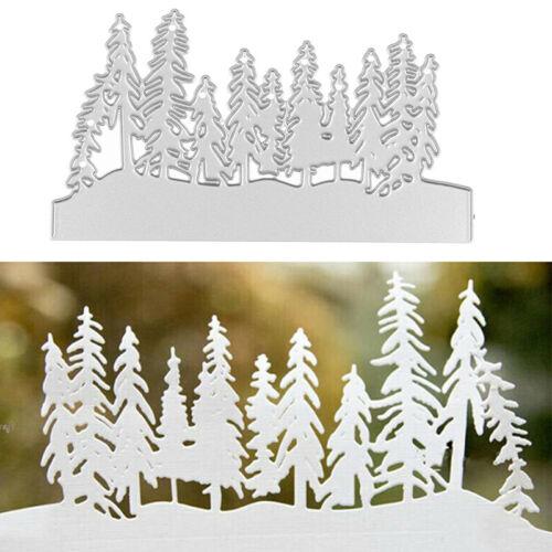 Christmas Tree Metal Cutting Dies Cut Die Mold  Scrapbook Craft Mould Stencil SL