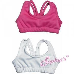 "HOT PINK Doll Sports Bra fit 18/"" American Girl Doll"