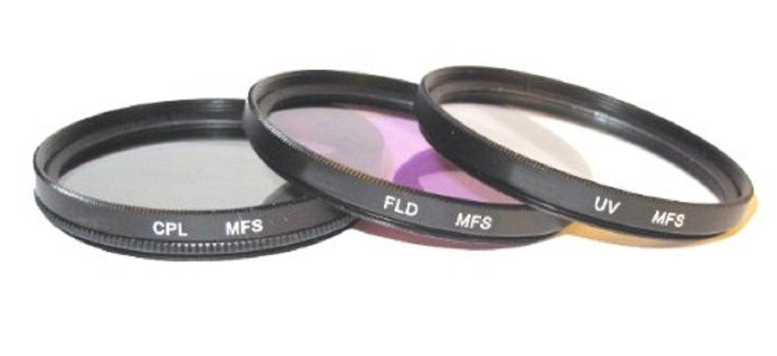 49mm Filter Set UV CPL /& FLD for Panasonic HC-X900 HD HC-WX970 HC-VX870 UK