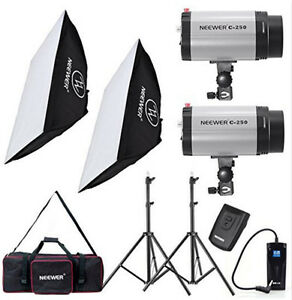Image is loading 500W-Photo-Studio-Strobe-Flash-Light-Softbox-Lighting-  sc 1 st  eBay & 500W Photo Studio Strobe Flash Light Softbox Lighting Kit | eBay azcodes.com