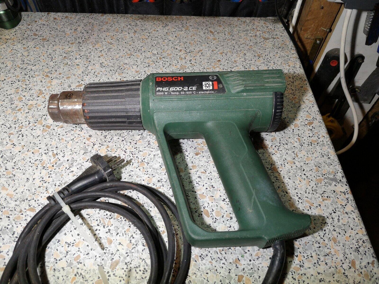 Bosch Phg 600 2 Ce heißluft Pistole 2000 W. Einstellbar power