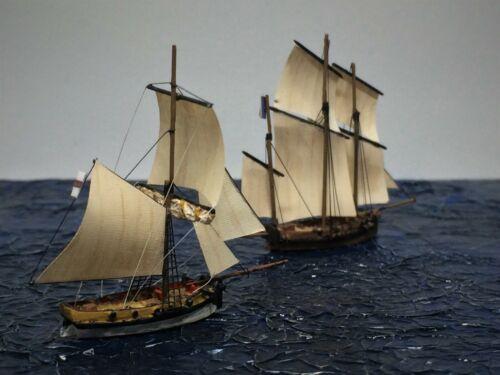 Resin models kit Naval Cutter & Lugger  1:700  2 in 1  | eBay