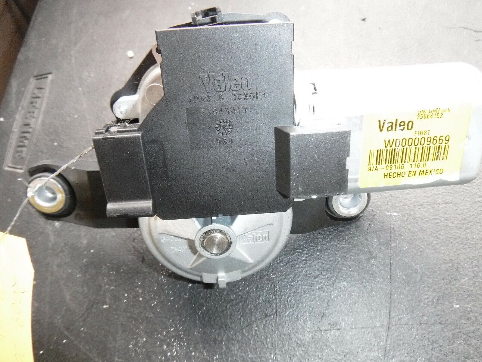ACDelco 25864152 GM Original Equipment Rear Window Wiper Motor