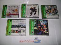 Final Fantasy Origins + Anthology + Ix + Chronicles + Chrono Cross Ps1 Lot