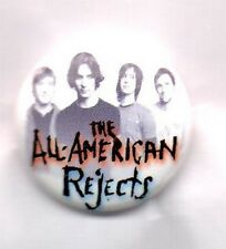 ALL-AMERICAN REJECTS BUTTON BADGE  AMERICAN ROCK BAND - DIRTY LITTLE SECRET 25mm
