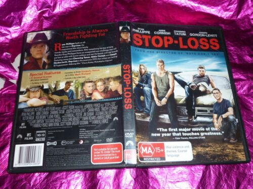 1 of 1 - STOP-LOSS : (DVD, MA15+) (P128548-31S)