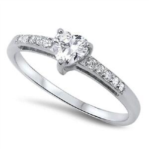 Blue Heart Promise Rings For Girlfriend