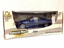 1/18 ERTL Elite American Muscle Edition 2004 Pontiac GTO Street Machine Blue BD